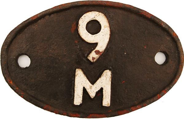 Shedplate 9m, Bury From September 1963 Until April