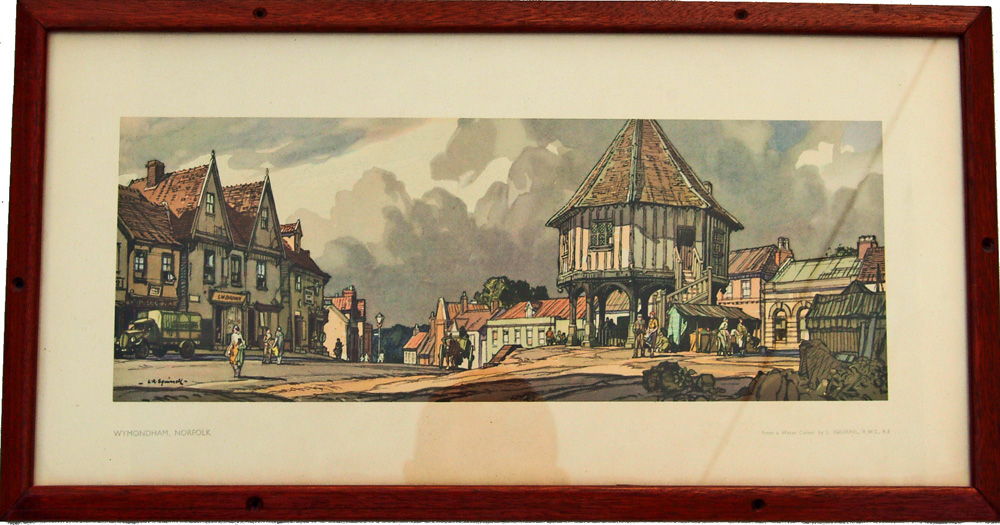 Carriage Print 'Wymondham' From A Painting By