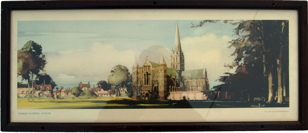 Carriage Print 'Salisbury Cathedral' From A