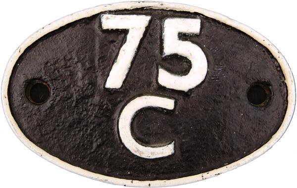 Shedplate 75c, Norwood Junction Until August 1966