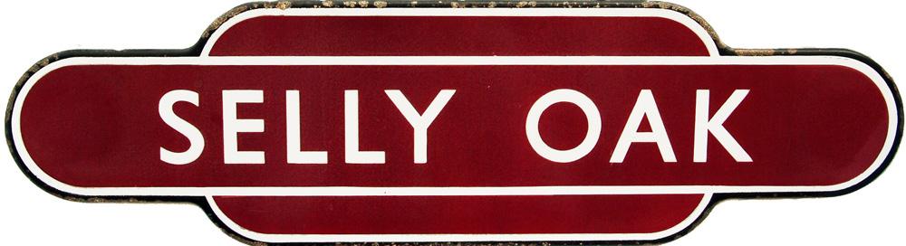 Totem, BR(M) SELLY OAK, F/F.  Ex Midland Railway