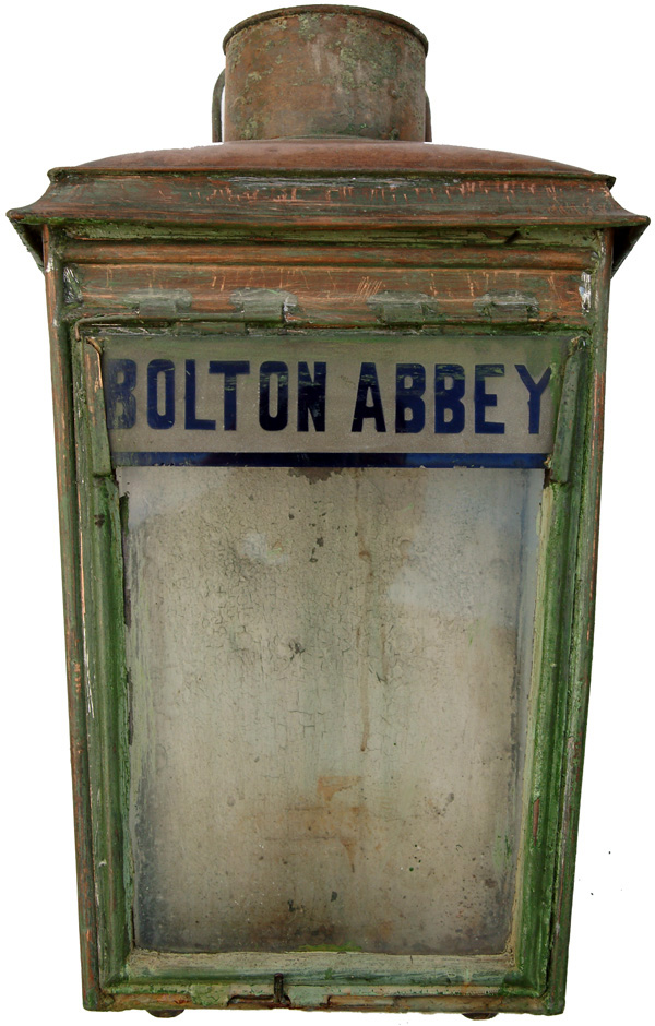 Midland Railway Copper Platform Lamp Case With