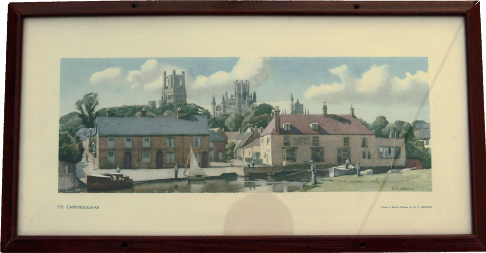 Carriage Print 'Ely, Cambridgeshire'  From A