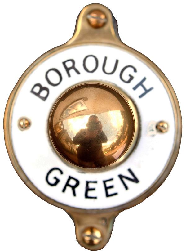 Sykes, Southern Railway Signal Box Brass Bell Push