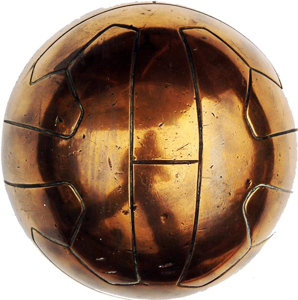 LNER Brass Football, Ex b17 Class 4-6-0