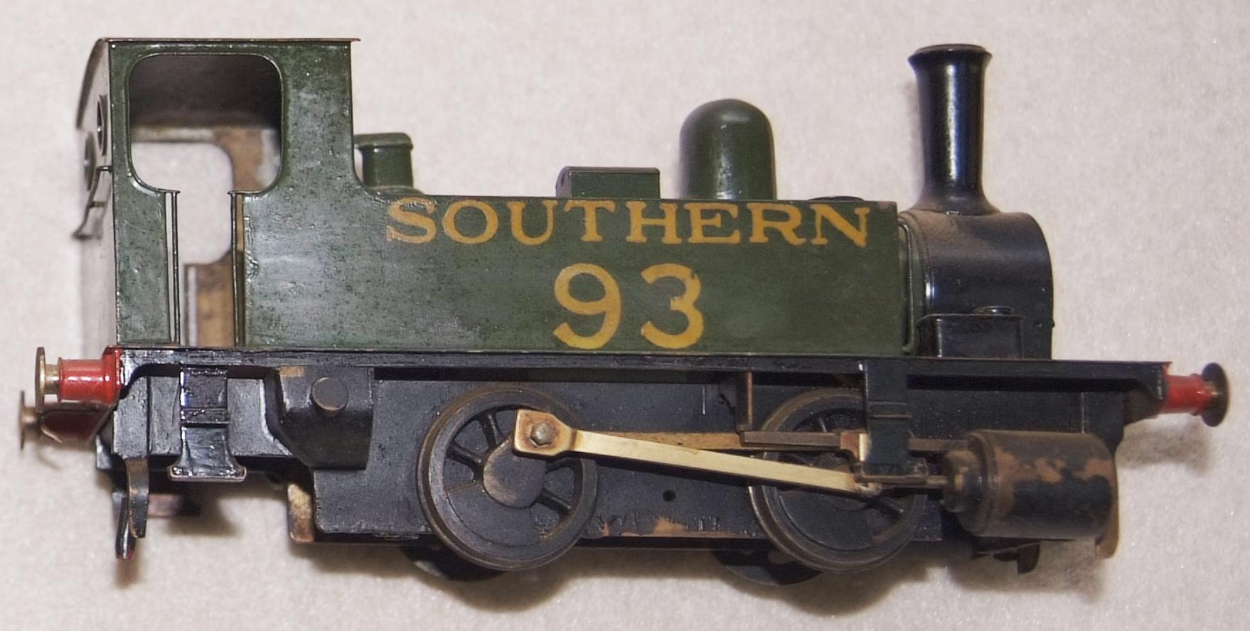 O Gauge Scratch Built Southern Railway 0-4-0 Dock