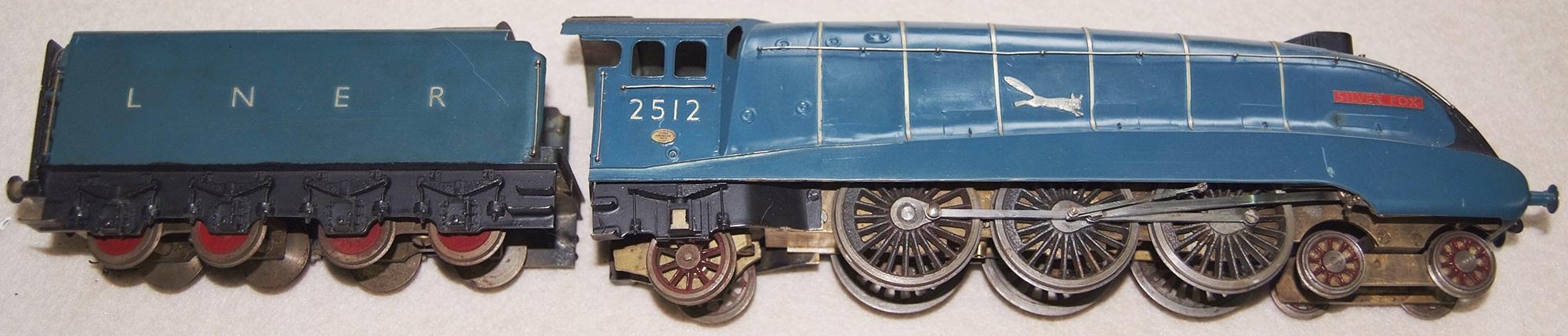 O Gauge Scratch Built a4 Pacific 4-6-2 Locomotive