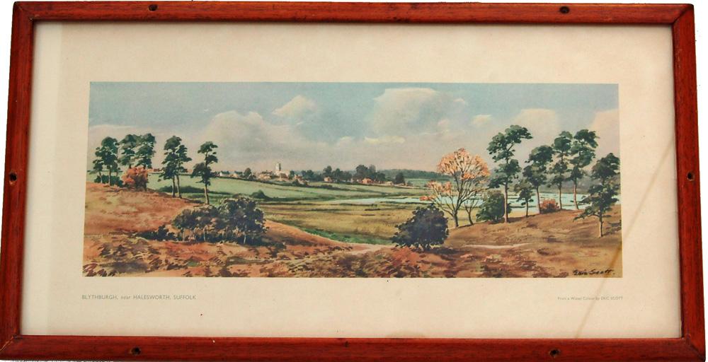 Carriage Print 'Blythburg Nr Halesworth'  From A