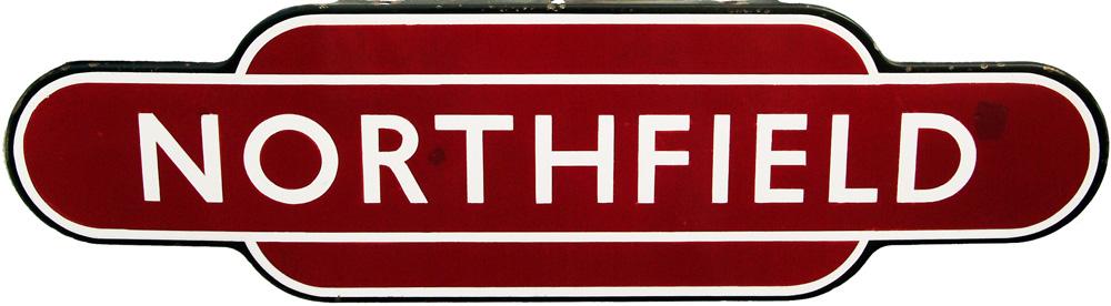 Totem, BR(M) NORTHFIELD, F/F.  Ex Midland Railway