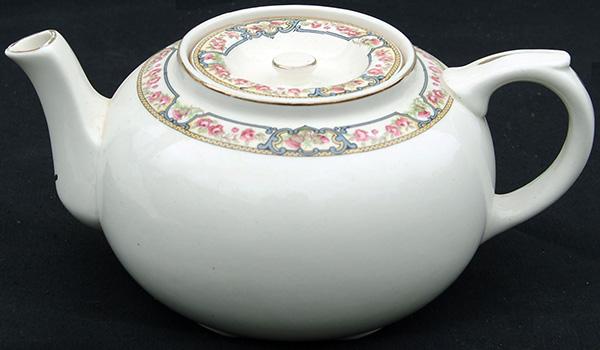 LNER KESICK Ware English Rose Pattern Teapot In