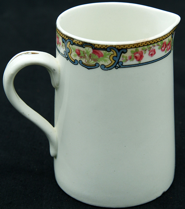 LNER KESICK Ware English Rose Pattern Milk Jug In