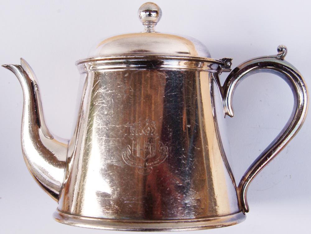 GWR EPNS Tea Pot Measuring 5