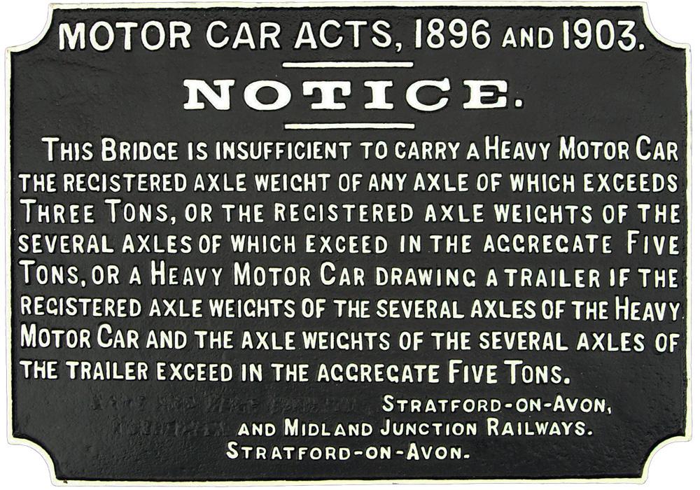 Stratford-On-Avon & Midland Junction Railway, C/I