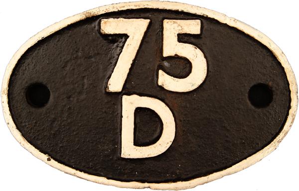 Shedplate 75d, Horsham Until July 1959 And Then
