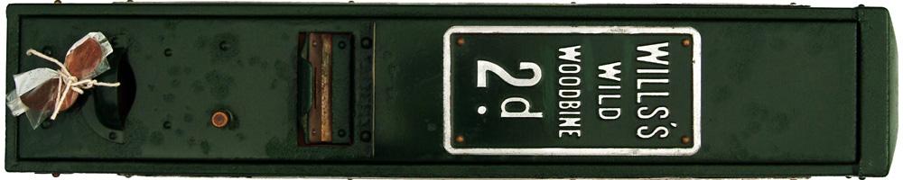 Station Platform 2d Cigarette Machine For Wills's