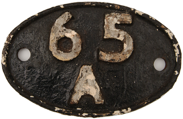 Shedplate 65a, Eastfield Until May 1973.