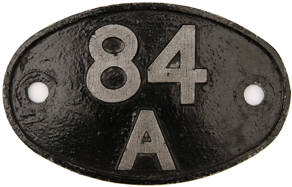 Shedplate 84a, Laira From September 1963 Until May