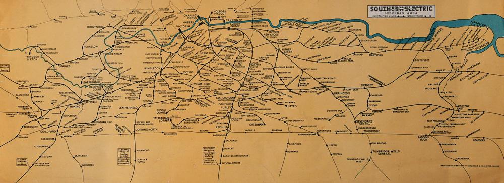 Southern Railway Carriage Print 22