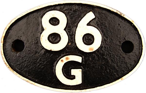 Shedplate 86g, Pontypool Road Until October 1967.