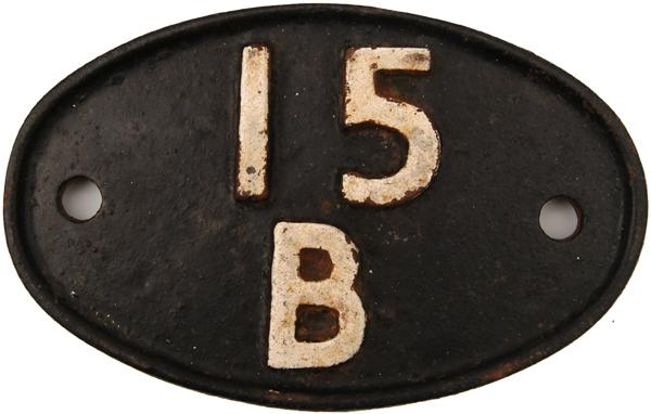 Shedplate 15b, Kettering Until September 1963 And
