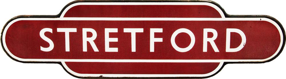 Totem, STRETFORD, BR(M), F/F. Ex MSJ&A Railway