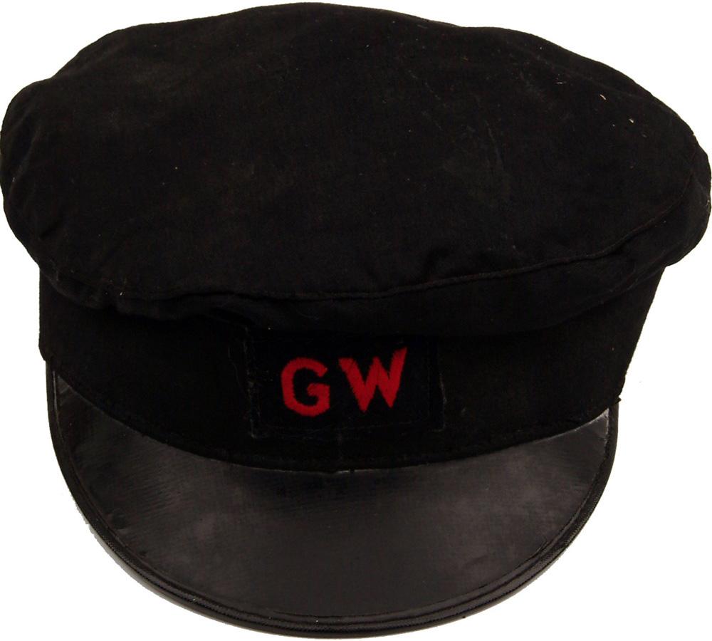 G.W.R. Porters Cap, Size 7, Black With