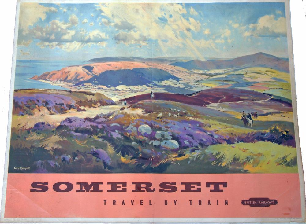 Poster, SOMERSET By Jack Merriott, Q/R