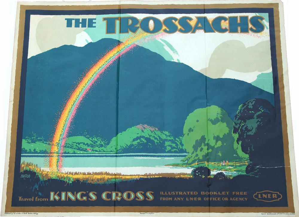 Poster, LNER Q/R The Trossachs - Travel From Kings