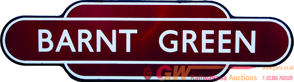 Totem, BR(M) BARNT GREEN, F/F. Ex Midland Railway