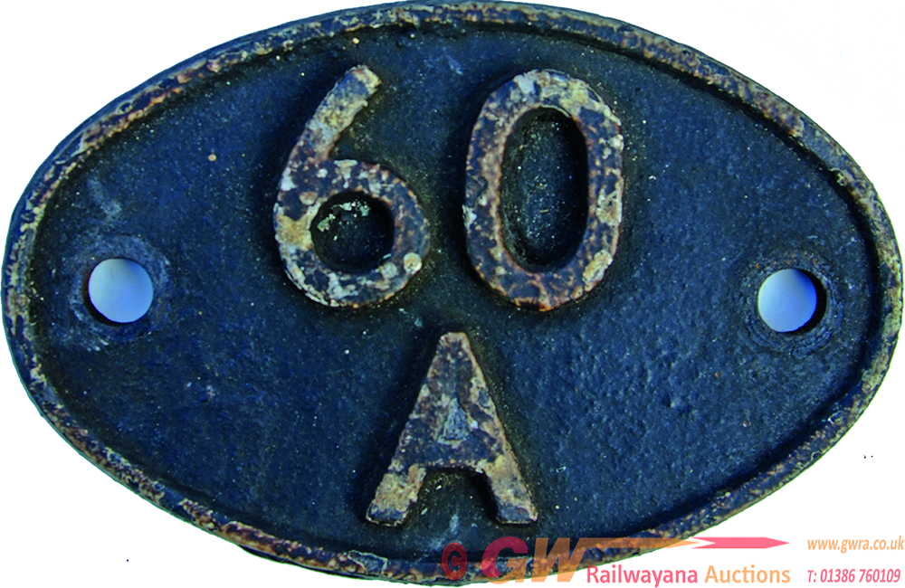 Shedplate 60a Inverness Until May 1973. Closed To