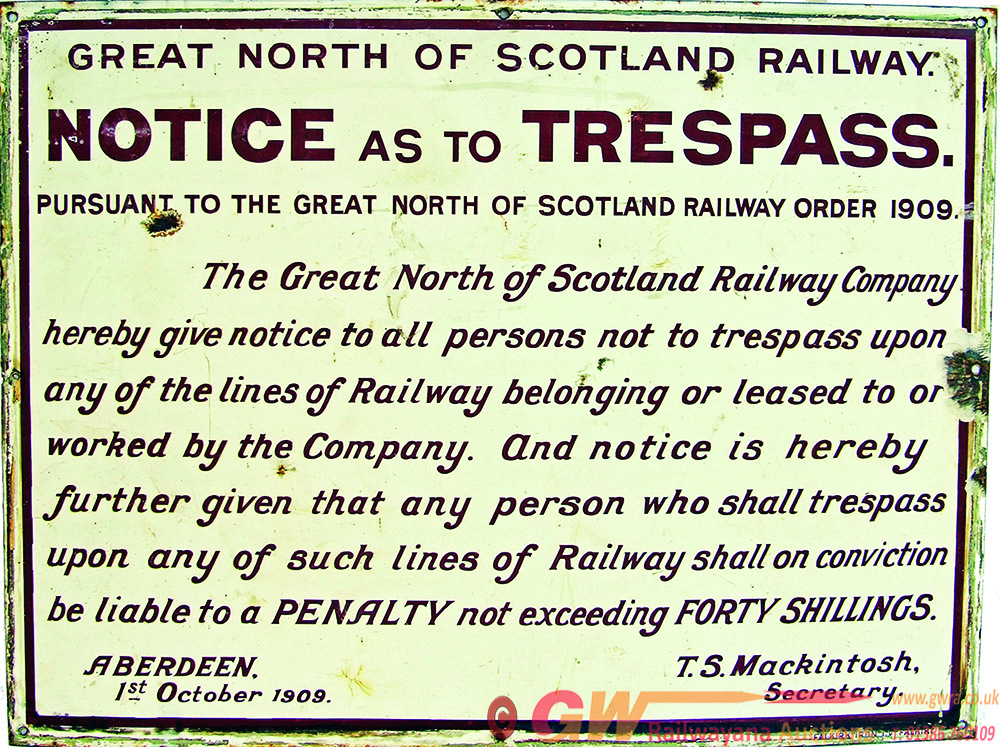 Great North Of Scotland Railway, Fully Titled,