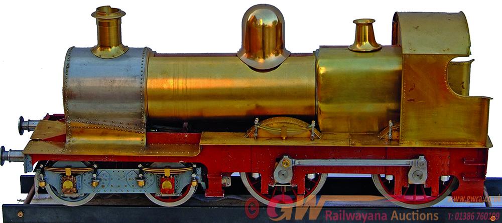 Live Steam Locomotive, 3