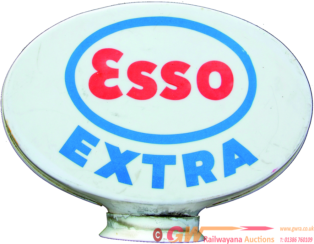 Esso Extra Plastic Petrol Globe. Undamaged But A