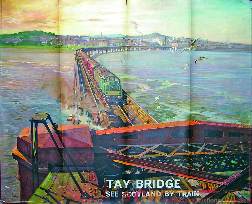 Poster, BR 'The Tay Bridge - See Scotland By
