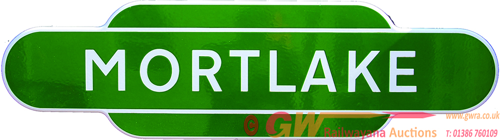 Totem, BR(S) MORTLAKE, F/F, Light Green Variety.