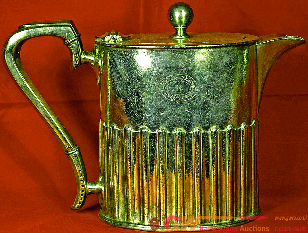 Great North Of Scotland Railway Ornate Coffee Pot