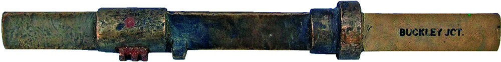 LNER Solid Brass, Single Line Staff & Ticket Key