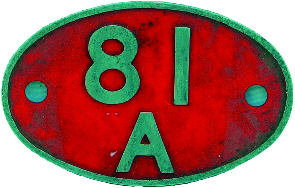 Shedplate 81a, Old Oak Common. Alloy Construction,