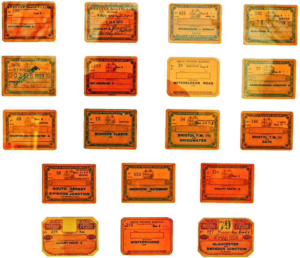 A Collection Of 18 GWR And GWR & LMS Joint Season