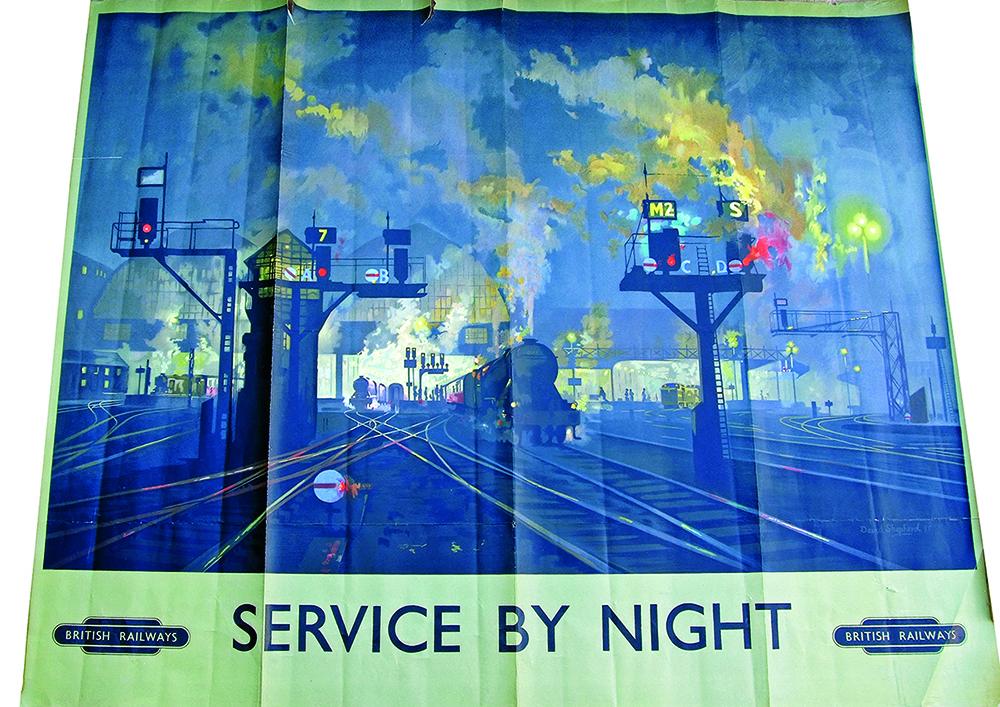 Poster 'Service By Night' By David Shepherd. Q/R
