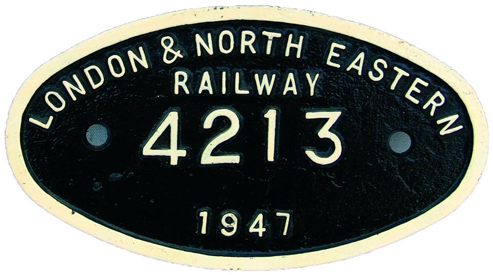 Tenderplate London & North Eastern Railway C/I  9