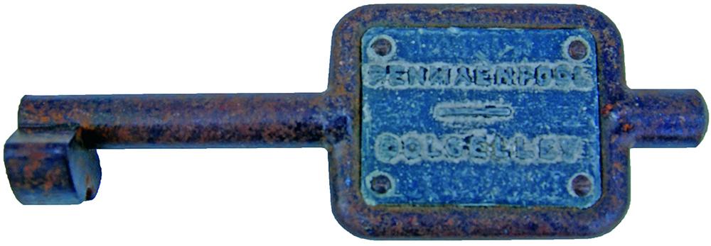 Steel Single Line Key Token PENMAENPOOL -