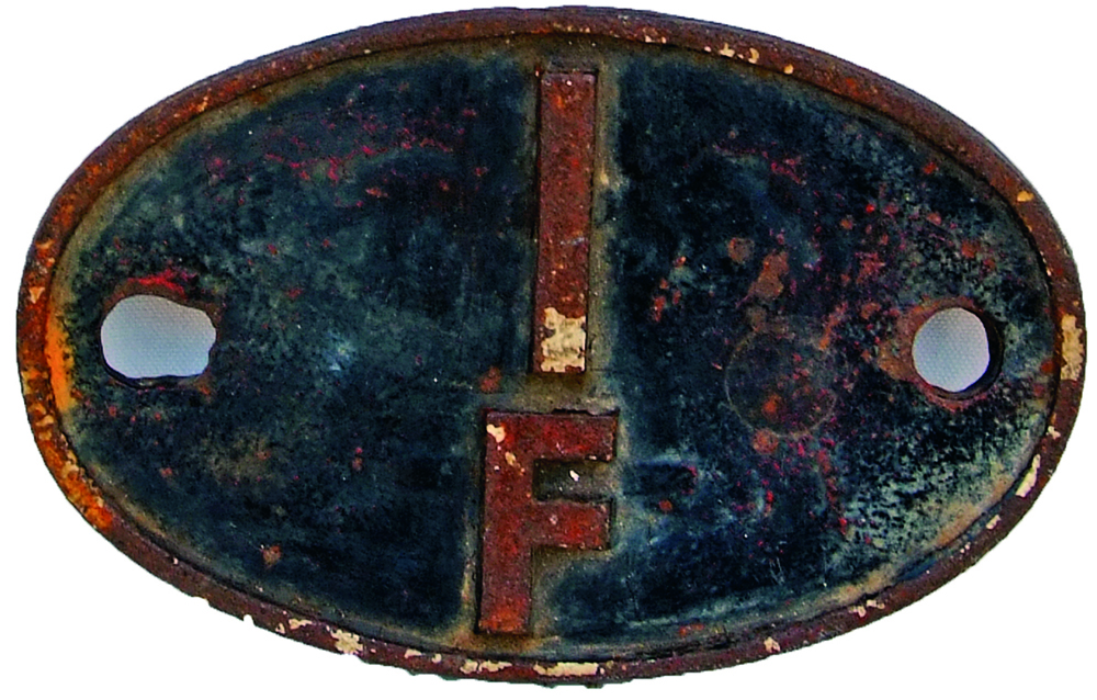 Shedplate 1f, Rugby From September 1963 Until