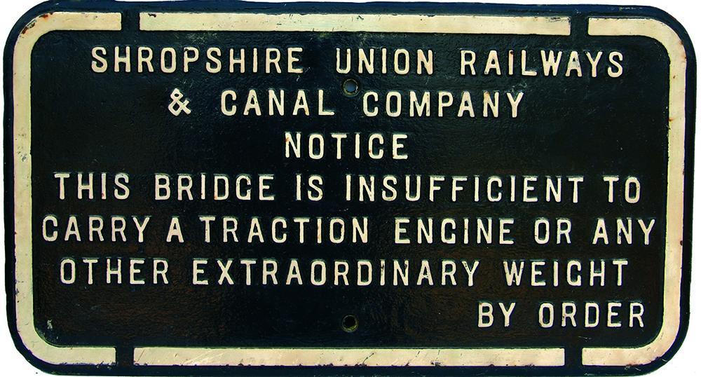 Shropshire Union Railways & Canal Company C/I