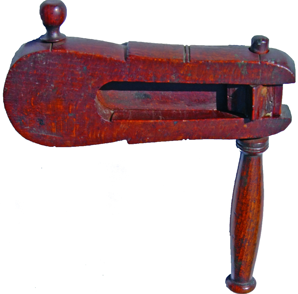 Wooden Police Rattle, Early 19th Century.