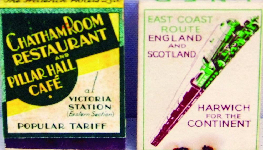 Matchbooks, A Pair Both Containing Original