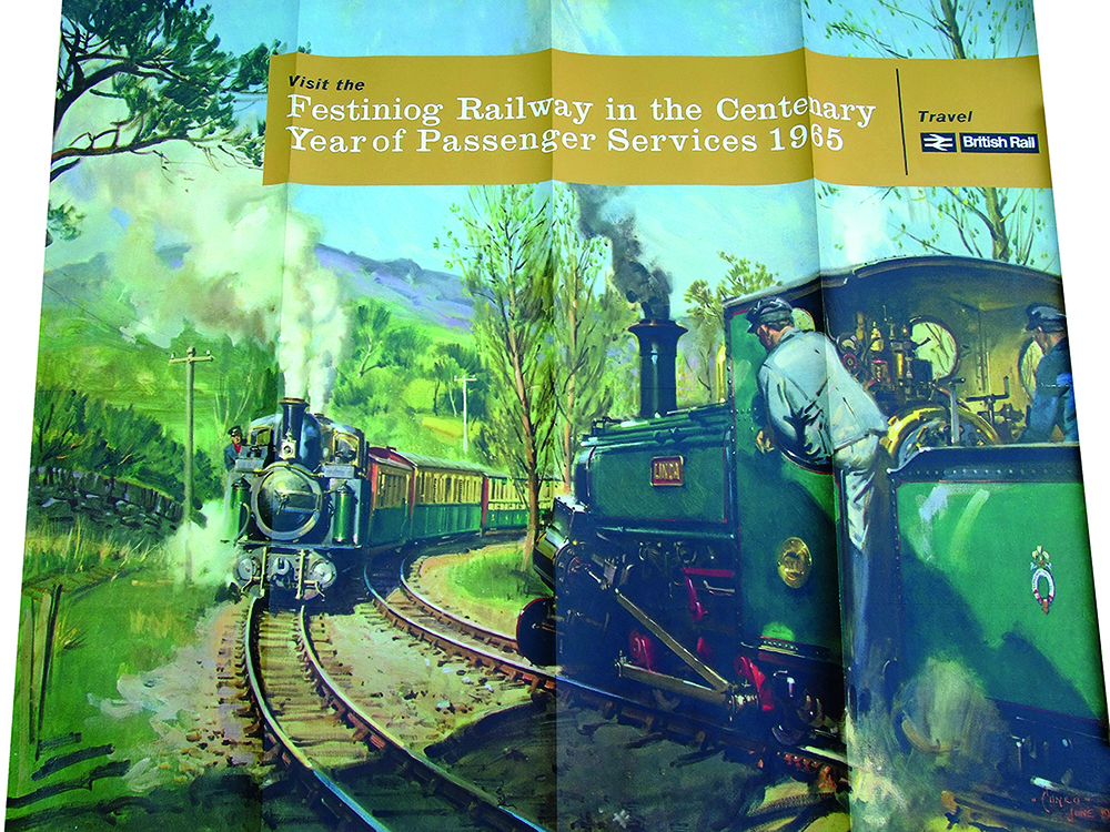 Poster 'Visit The Festiniog Railway In The