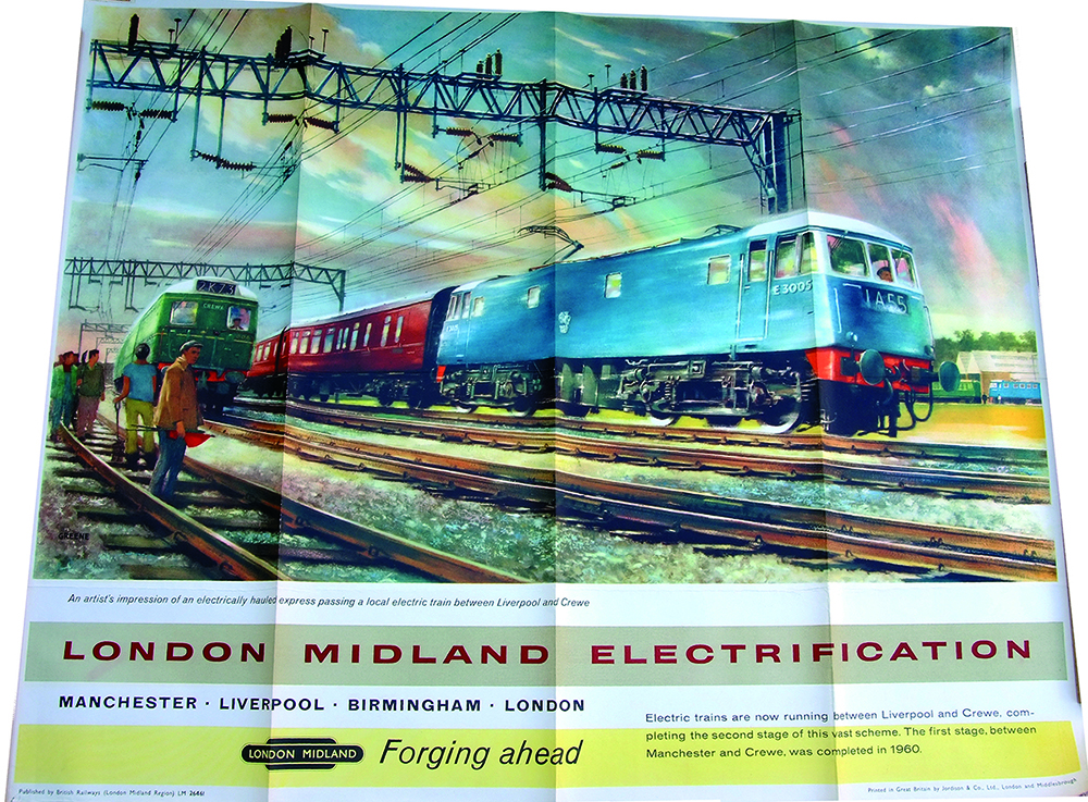 Poster 'Forging Ahead - London Midland
