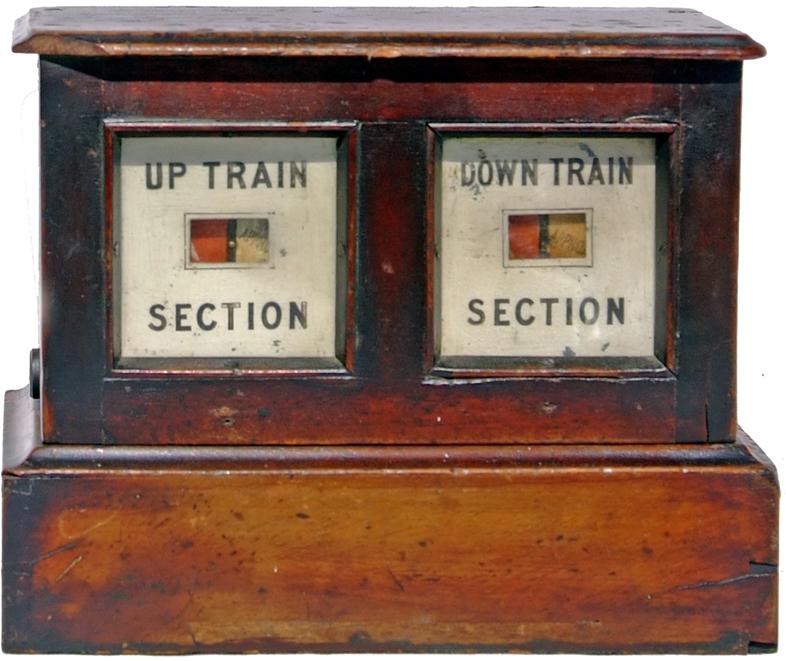 Midland Railway Level Crossing Block Instrument.