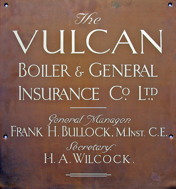 The Vulcan Boiler & General Insurance Company Ltd